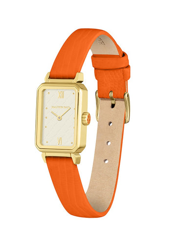 Salamander Sport Orange & Gold Watch - Haute Elan