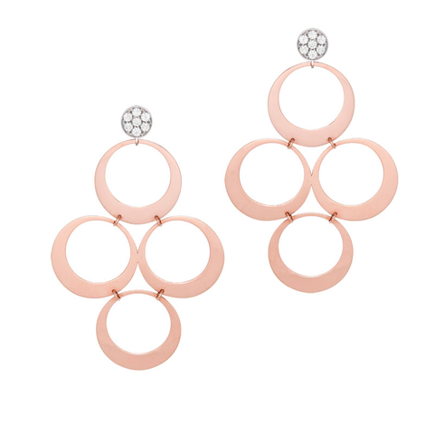 Charlotte Rose Gold Earrings