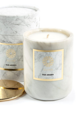 LUXURY OUD ARABIA SCENTED CANDLE