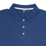 Cotton Piqué Polo With Raw Edge Detail