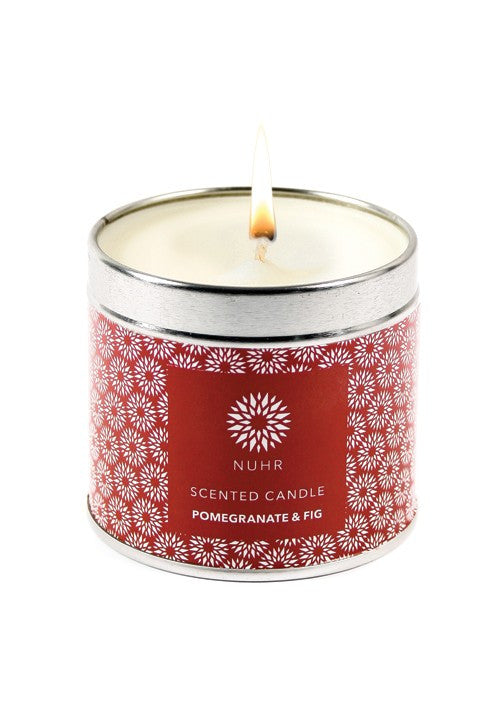 POMEGRANATE & FIG LUXURY SCENTED CANDLE - Haute Elan