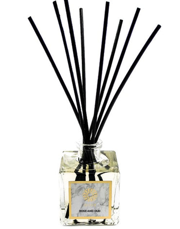 LUXURY ROSE & OUD REED DIFFUSER - Haute Elan