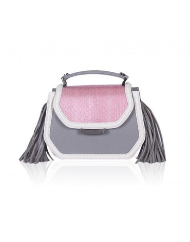 Rose & Gray Mini Anabella Tote - Haute Elan