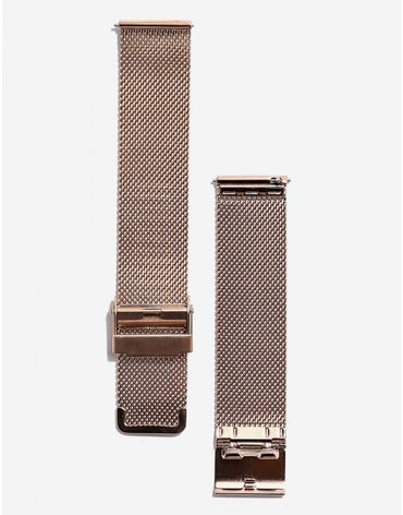 ITHNAAN Rose Gold Metal Strap