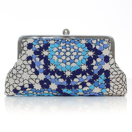 Arabesque Ocean Classic Clutch
