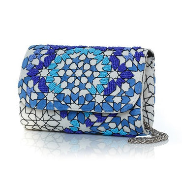 Arabesque Ocean Mini Clutch - Haute Elan