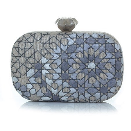 Arabesque Silver Thread Box
