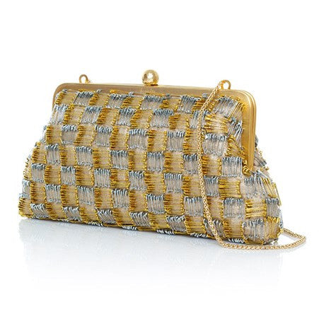 Pins Classic Gold/Silver Clutch