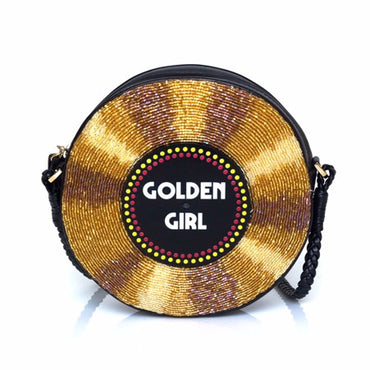 Golden Girl Surround clutch bag - Haute Elan