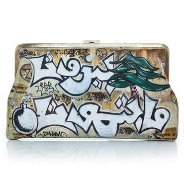 Graffiti Clutch Me - Haute Elan