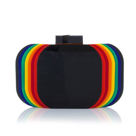 Aura Rainbow Clutch