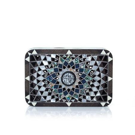 Mandala Black Cross-Body Bag