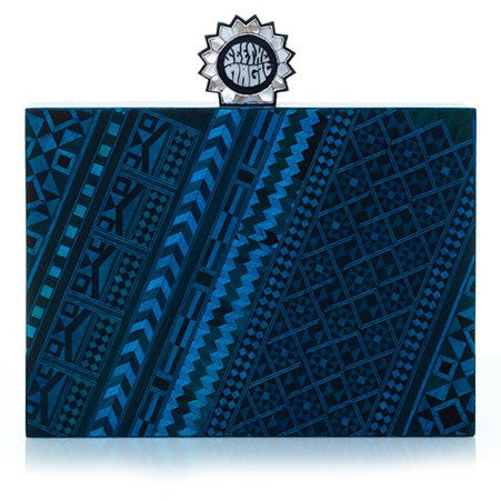 Marquetery Blue Mystic Cross-Body Bag
