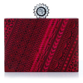 Marquetery Red Mystic Cross-Body Bag