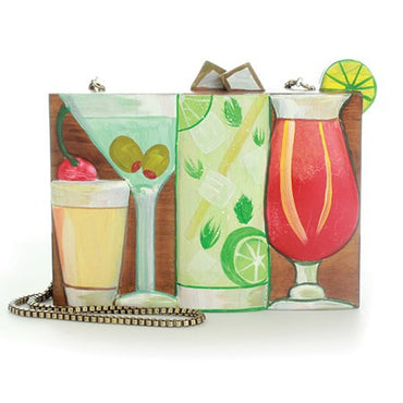 Cocktails And Dream Cross-Body Bag - Haute Elan