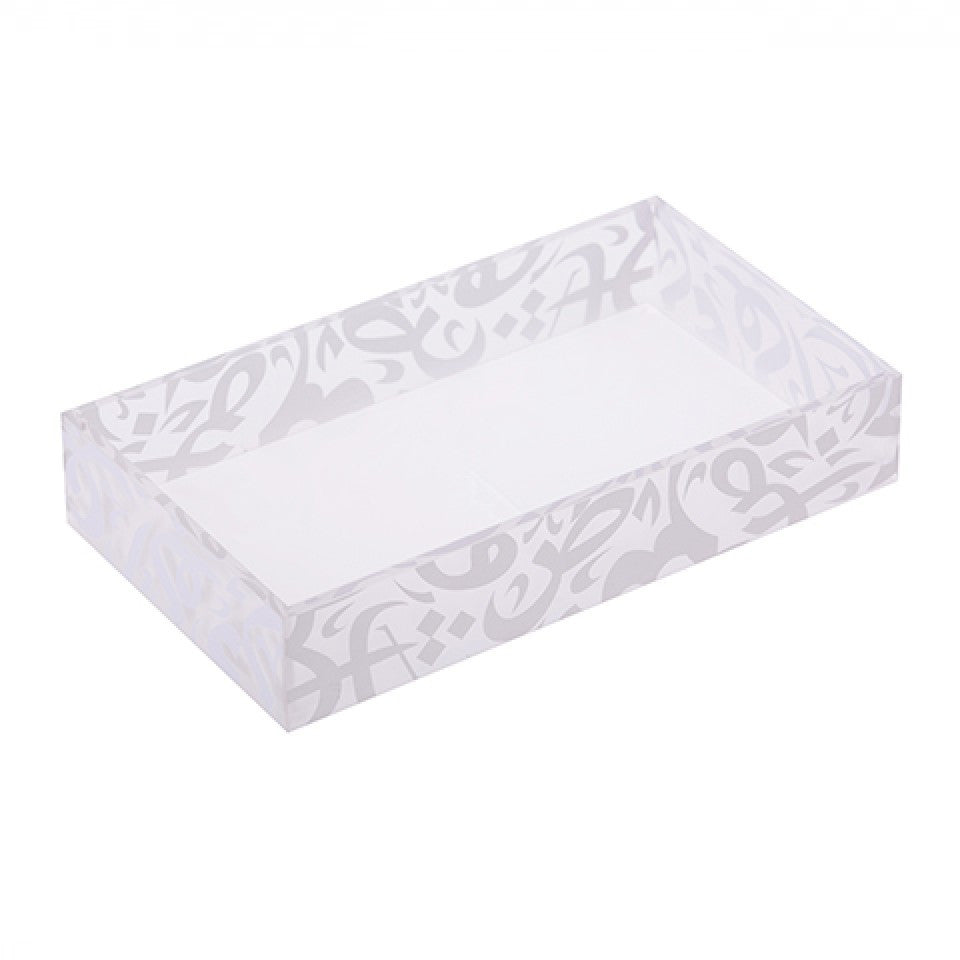 Grey‏ Square Vanity Tray