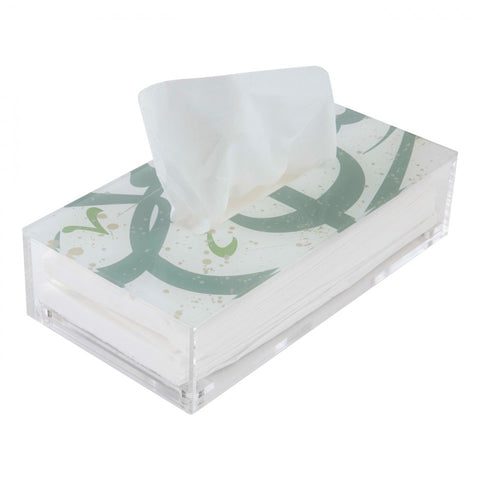 Tarateesh Pastel Green Tissue Box
