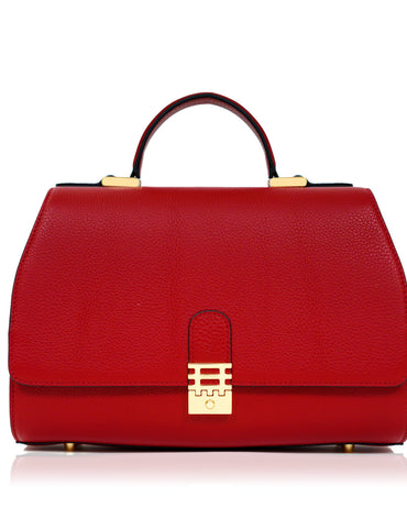 Red Vienna Tote