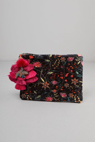 The Bloom Tassel Pouch