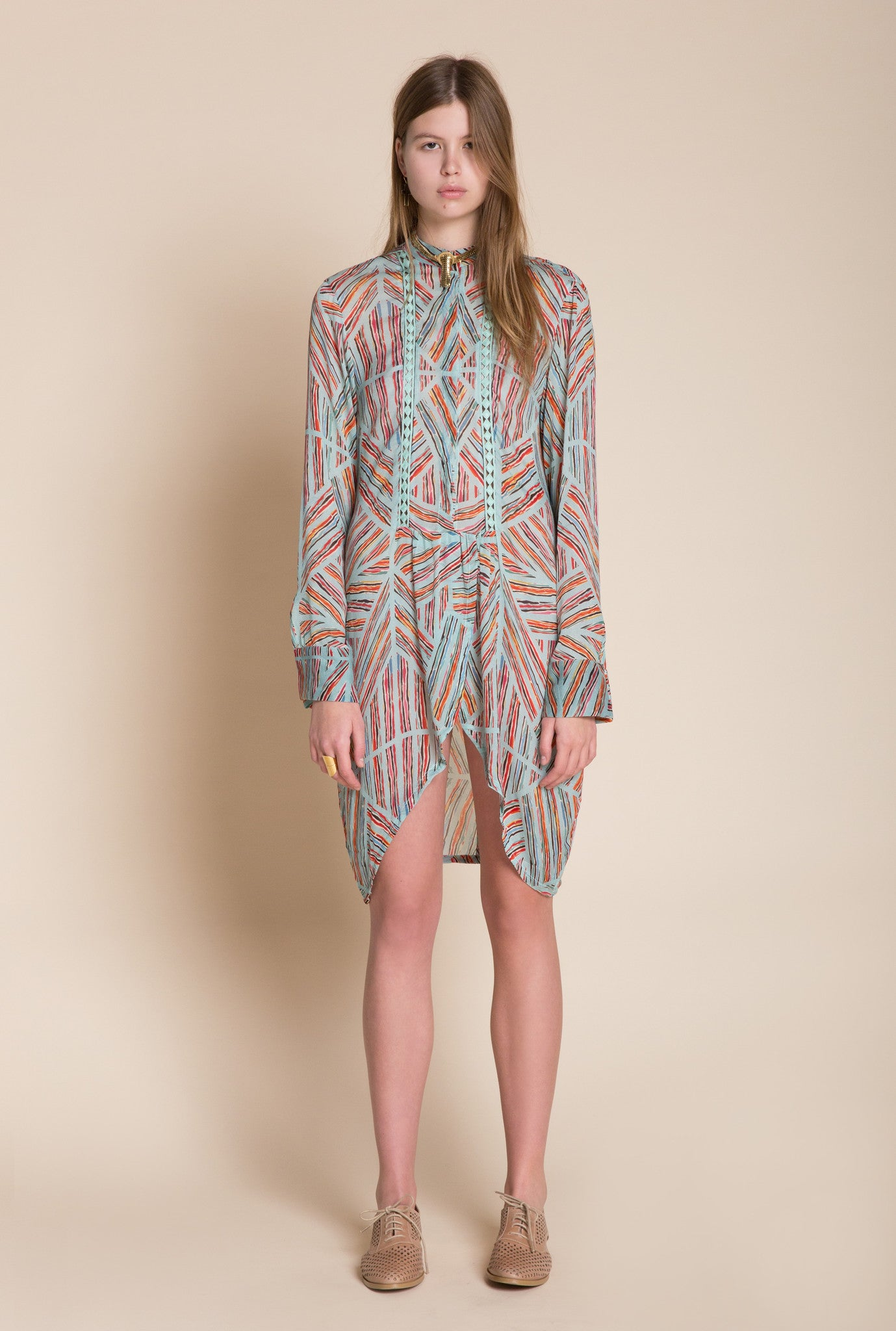 Silk Patterned Tunic