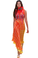 Load image into Gallery viewer, Roopa, Luxury, Sustainable fashion, roopapemmaraju, longdresses, dresses, printeddress, silkdress