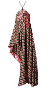 Roopa, Luxury, Sustainable fashion, roopapemmaraju, longdresses, dresses, printeddress, silkdress