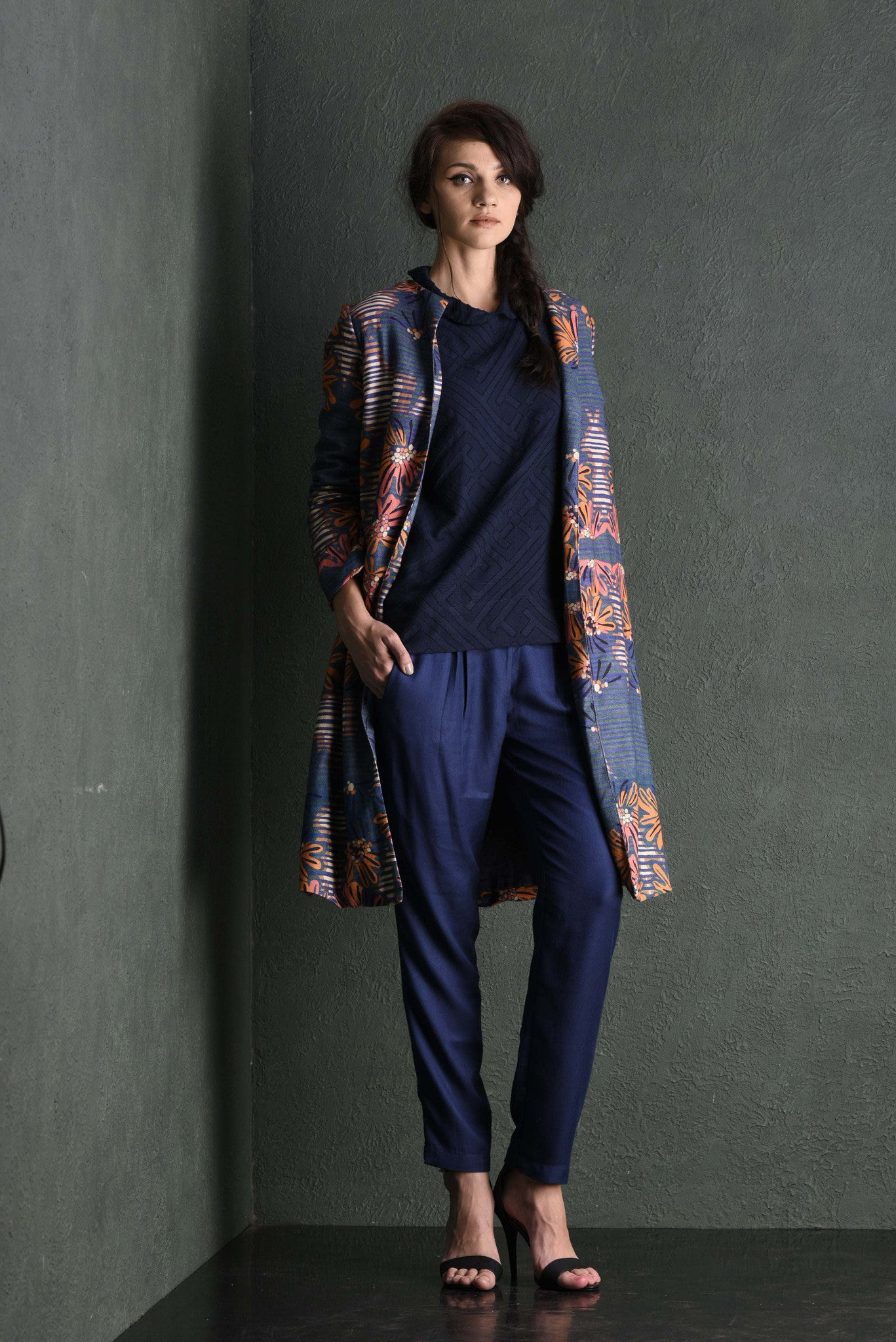 Tanami Printed Coat