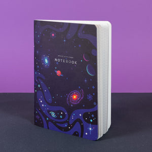 Space Explorer Notebook (2nd Edition with Foil Lettering)