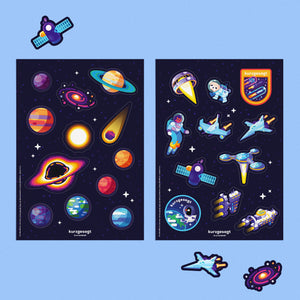 Space Sticker Set
