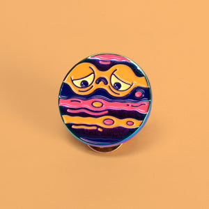 Brown Dwarf Enamel Pin