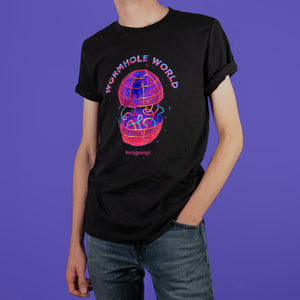 80s Wormhole Shirt