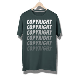 Copyright Fades T-Shirt by Running-Kruger Apparel