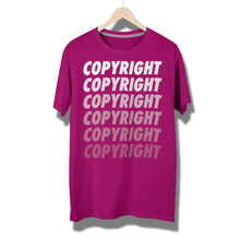 Load image into Gallery viewer, Copyright Fades T-Shirt by Running-Kruger Apparel