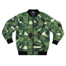 Load image into Gallery viewer, Digital Camo Bomber Jacket by Running-Kruger Apparel