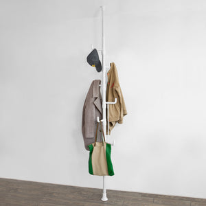 SoBuy Telescopic Umbrella Coat Stand Rack Organiser,FRG159-W