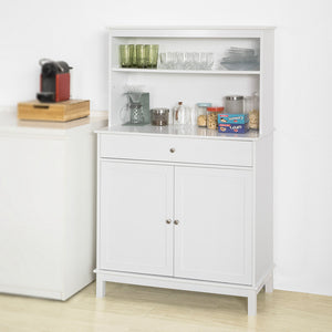 SoBuy® FSB26-W, Home Kitchen Sideboard Storage Cabinet Cupboard White