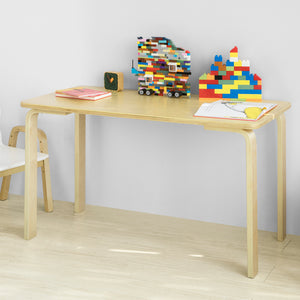 SoBuy Kids Children Table Wooden Rectangle Table, Children Reading Table Dining Table Play Table,KMB23-N