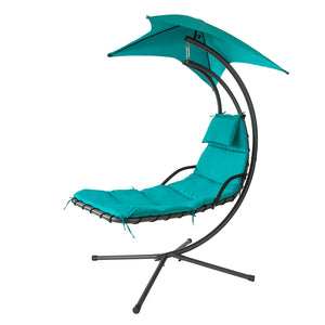 SoBuy OGS39-TB, Garden Patio Hammock Swing Hammock Swing Chair Sun Lounger Relaxing Chair