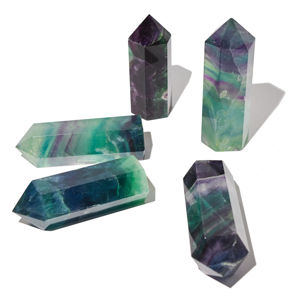 Fluorite Towers Large 3.5 Inch
