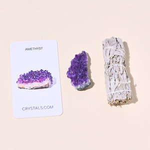 Sage and Amethyst Duo