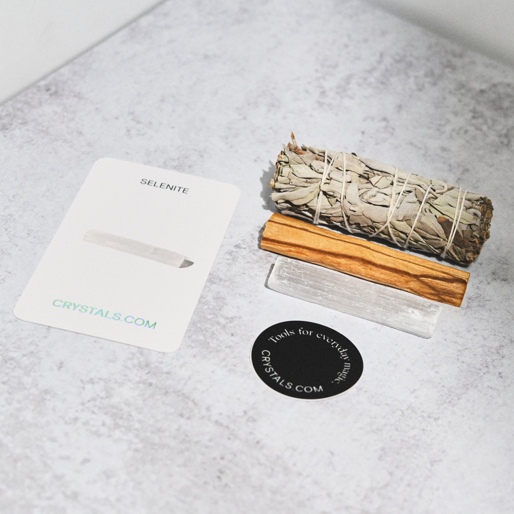 Cleansed Kit - Palo Santo / Sage / Selenite