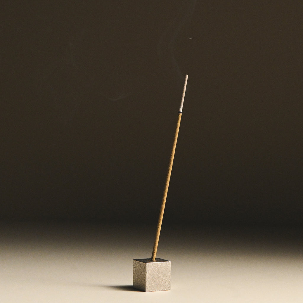Minimal Incense cube holder