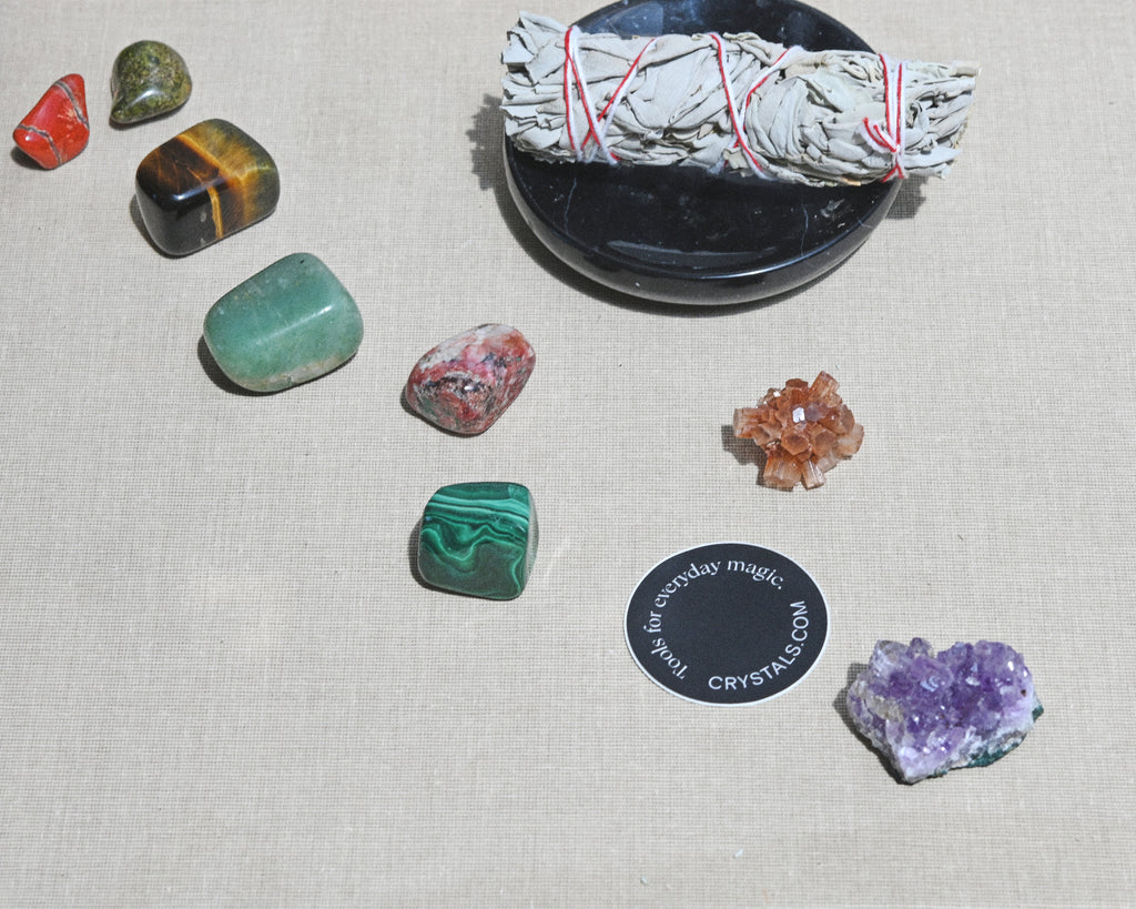 Monthly Crystal and Sage duo Subscription