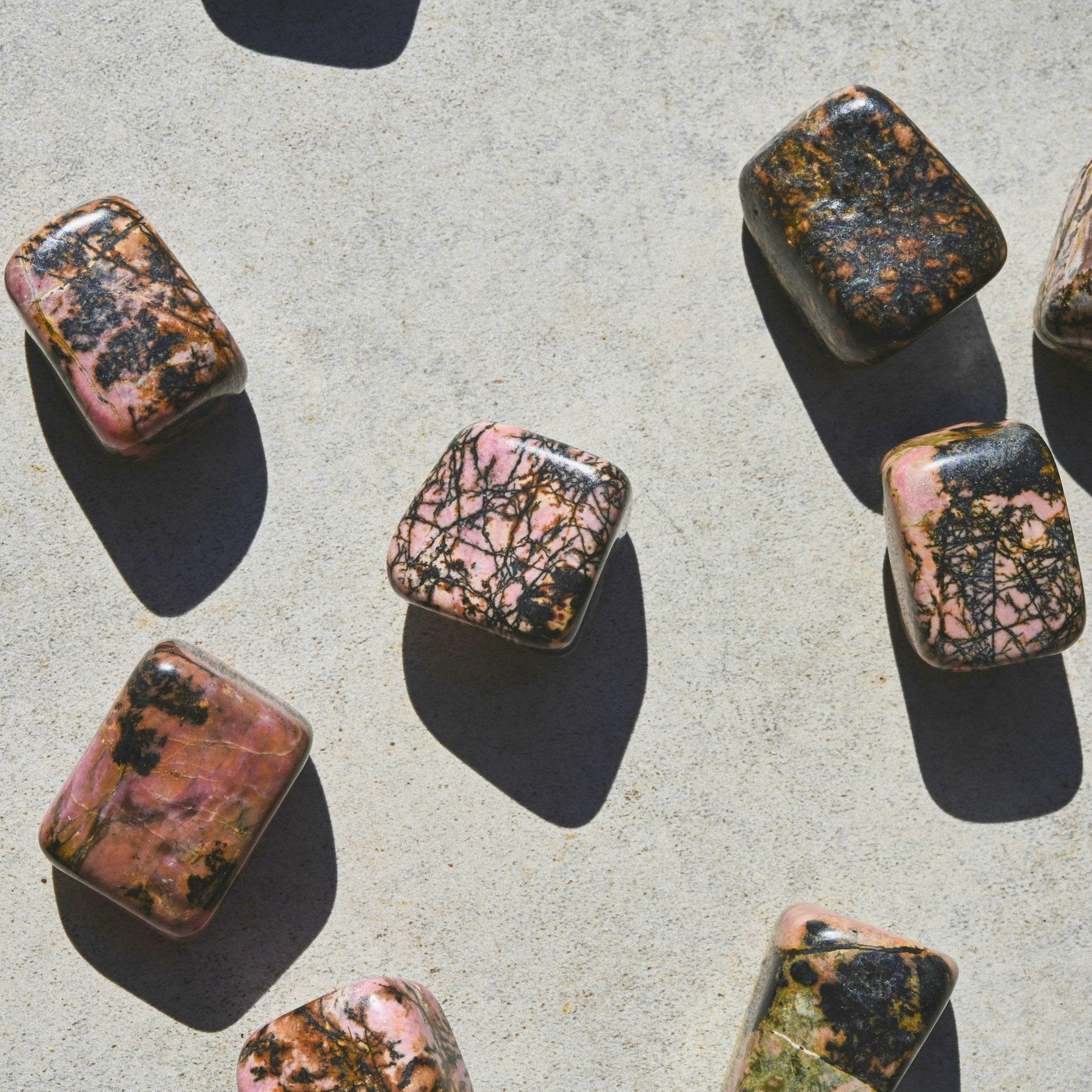Rhodonite | Tumbled
