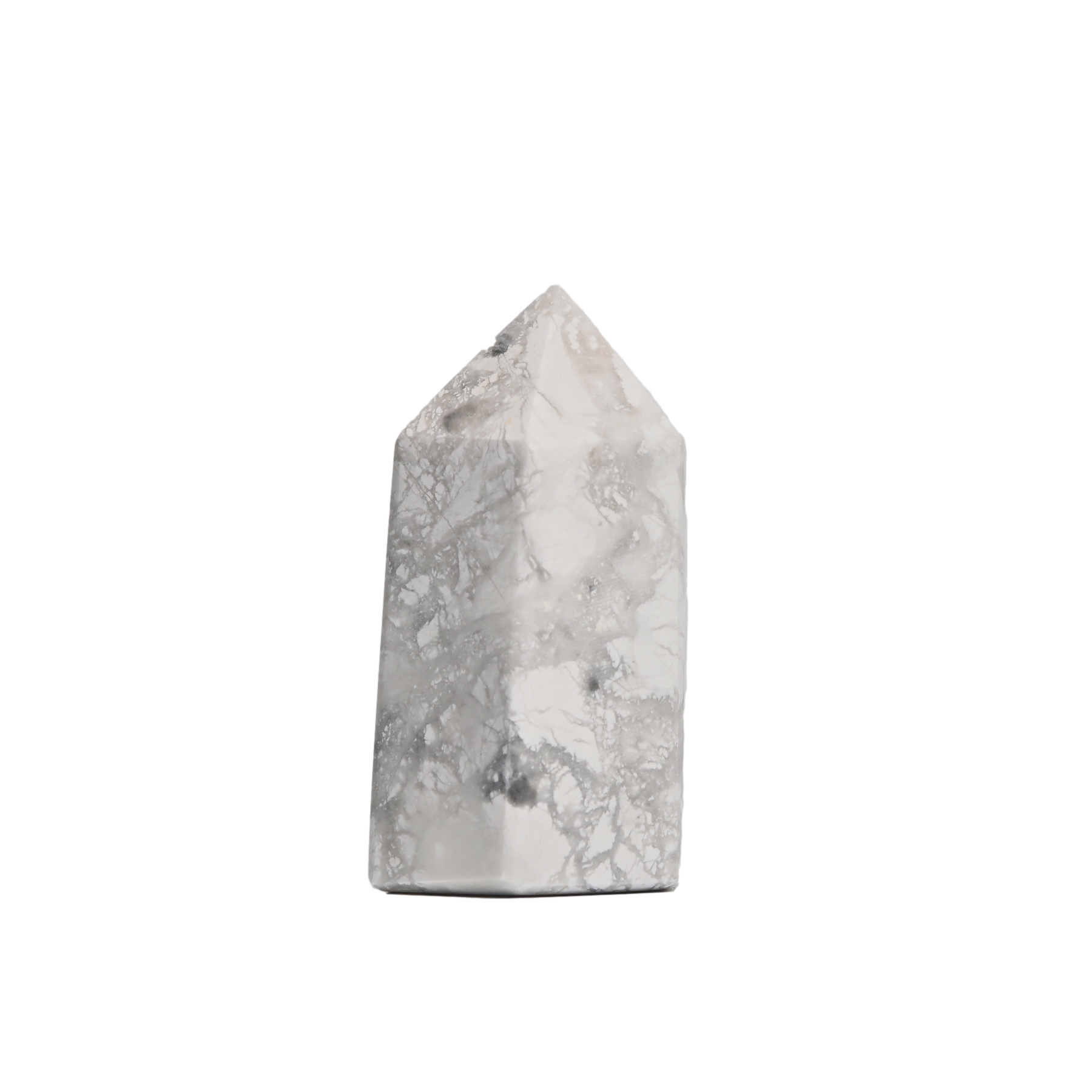 White Howlite Point