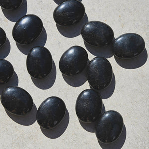Black Obsidian | Palm Stone