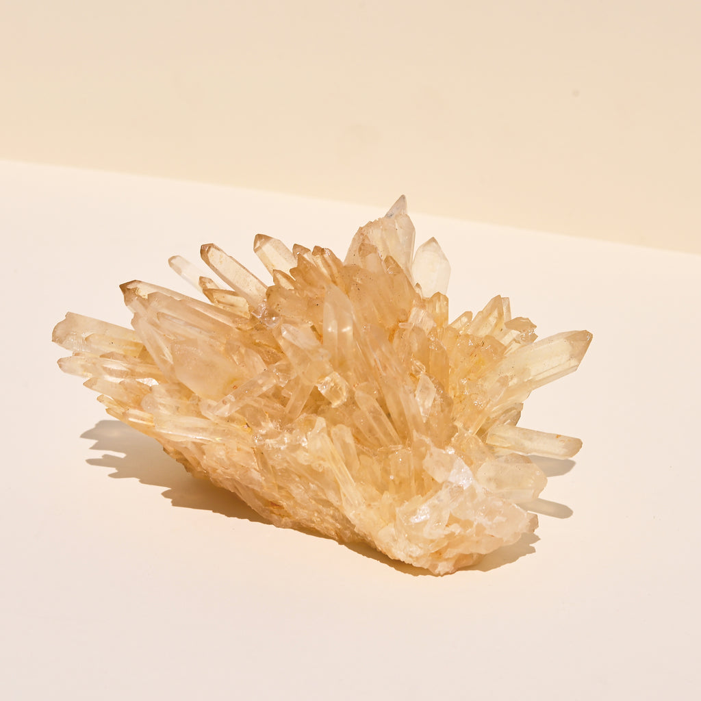 Yellow Quartz Cluster