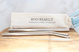 Eco Fam Straw Set