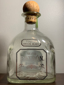 Repurposed Patron Bottles 750 ML - K Sense