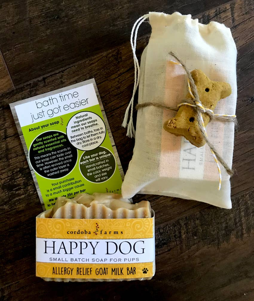 Happy Dog - Allergy Relief Soap Bar